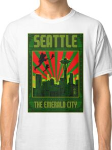 SEATTLE - THE EMERALD CITY Classic T-Shirt