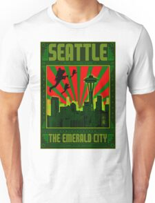 SEATTLE - THE EMERALD CITY Unisex T-Shirt
