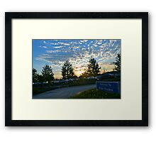 Walkway to Magic Kingdom Framed Print