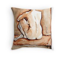 Sitting Joelle camaieu Throw Pillow