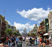 Main St. Magic Kingdom, Walt Disney World by Brian Schmutte