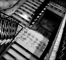 Hallow Stair by Charlie Rivero