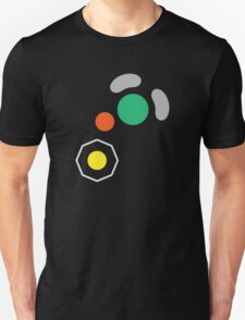 Gamecube Controller Button Symbol Unisex T-Shirt