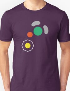 Gamecube Controller Button Symbol Unisex T-Shirt