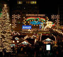 Christmas Market, Essen, Germany, 2006 by David A. L. Davies
