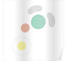 Gamecube Controller Button Symbol - Hexagon Poster