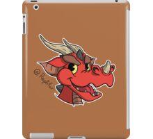 Bad dragon head iPad Case/Skin