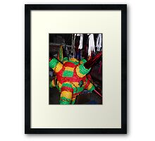 Manufactory, living and sleeping room - Fábrica, sala y recamara Framed Print