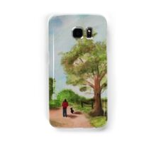 Man and his Dog Samsung Galaxy Case/Skin