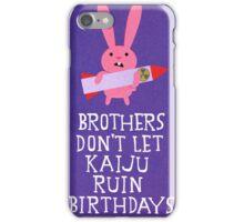 Kaiju Control iPhone Case/Skin