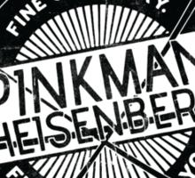 Pinkman & Heisenburg. Sticker