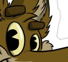 Coyote head Sticker