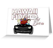 Hawaii Five-0 Toy Drive 2015 Greeting Card