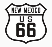 Route 66, New Mexico One Piece - Short Sleeve