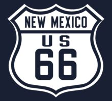 Route 66, New Mexico Kids Tee