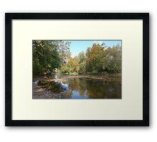 River Road 13 Framed Print