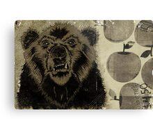 """BEAR FRUIT"" Metal Print"