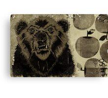 """BEAR FRUIT"" Canvas Print"