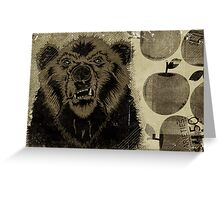 """BEAR FRUIT"" Greeting Card"