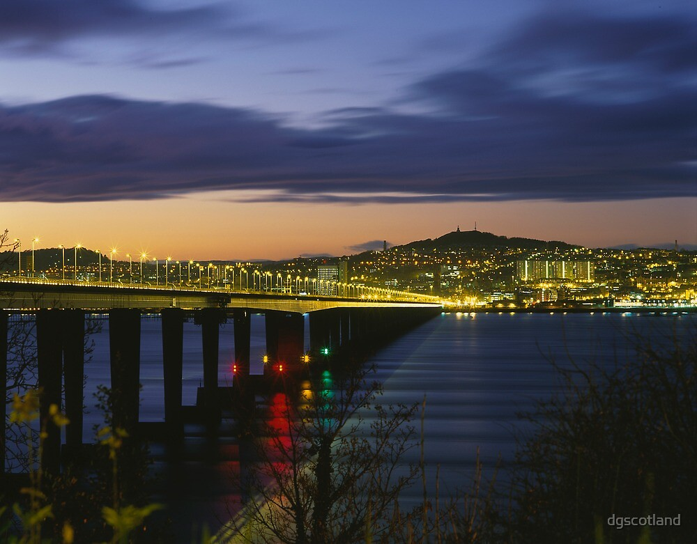Tay Bridge heading to Dundee by dgscotland