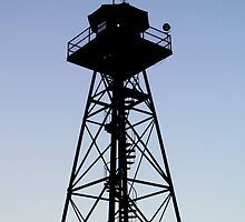 Watchtower on Alcatraz by dgscotland