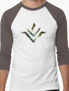 Vesta Asteroid Symbol - Universe Edition Men's Baseball ¾ T-Shirt