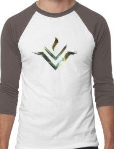Vesta Asteroid Symbol - Universe Edition Men's Baseball ¾ T-Shirt