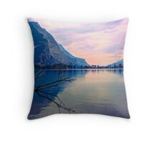 Morning Awakes Throw Pillow