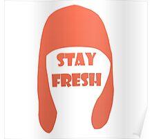 Splatoon - Stay Fresh (orange) Poster