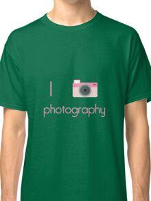I Heart Photography Classic T-Shirt