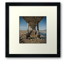 Looking Into the Middle Framed Print