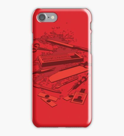 Serial Killer Toolbox iPhone Case/Skin