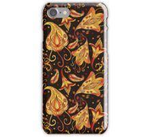 Ethnic black pattern iPhone Case/Skin