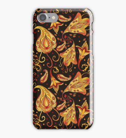 Ethnic black pattern iPhone Case/Skin