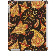 Ethnic black pattern iPad Case/Skin