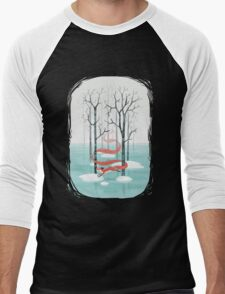 Forest Spirit Men's Baseball ¾ T-Shirt