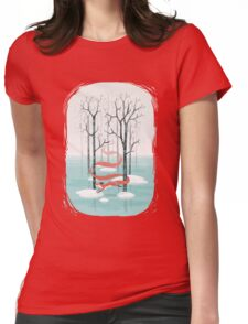 Forest Spirit Womens Fitted T-Shirt