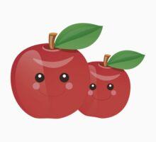 Kawaii Apples One Piece - Short Sleeve