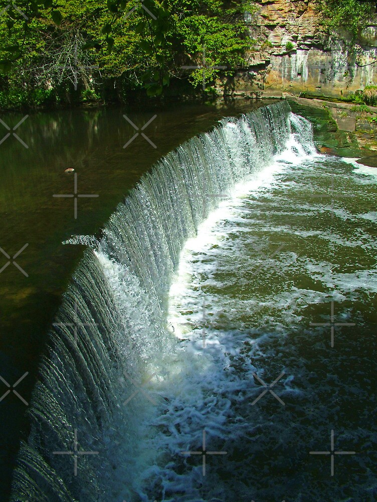 River Almond Weir by Tom Gomez