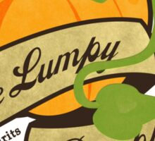 The Lumpy Pumpkin Sticker
