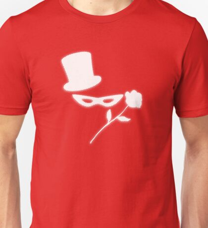 Masked Man in a Tux Unisex T-Shirt