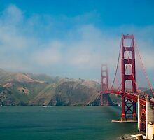 The Golden Gate Bridge by Slawomir  Piasecki