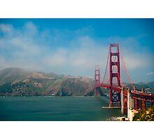 The Golden Gate Bridge Photographic Print