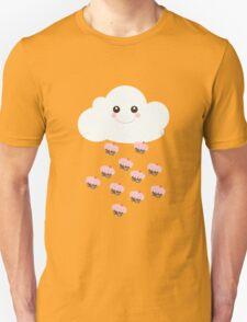 It's raining cupcakes...yes please! Unisex T-Shirt