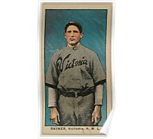 Benjamin K Edwards Collection Raymer Victoria Team baseball card portrait Poster
