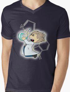 Mad Scientist Mens V-Neck T-Shirt