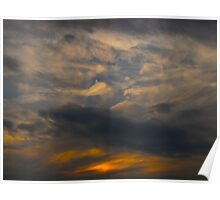 Swashbuckling clouds Poster
