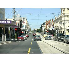 Narrow streets of Melbourne Photographic Print