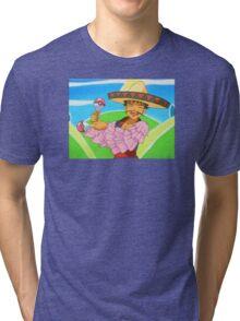 Groovy Brock Tri-blend T-Shirt
