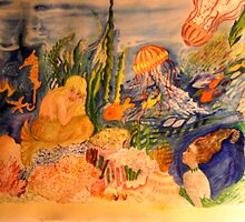 Mermaid and Friends Inc. by Nora Fraser